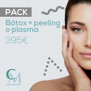Pack de medicina estética con bótox y peeling o plasma en Clínica Montecarmelo (Sevilla)