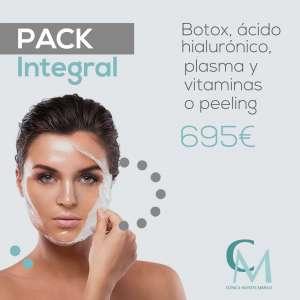 Promoción de bótox, plasma, vitaminas o peeling y ácido hialurónico en Sevilla
